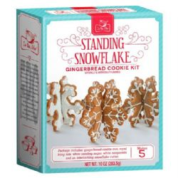 Snowflake Gingerbread Cookie Kit | Buy Online | UK
